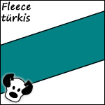Fleece türkis