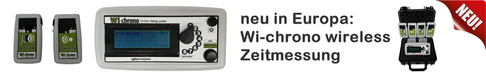 Wireless Zeitmessung